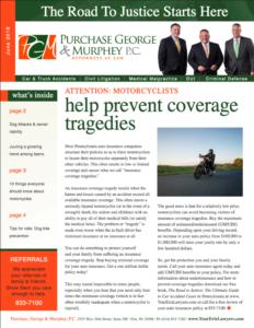 Newsletter June 2018 Cover