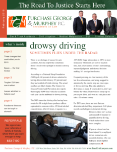 February 2019 Newsletter Cover